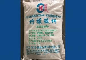 江苏柠檬酸钾